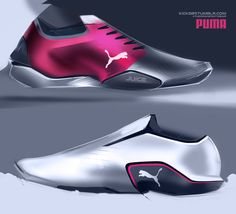 0a38a7b2cd Footwear Design on Behance Pumas Shoes, Shoes Sneakers, Shoes Sandals, Bike  Shoes,