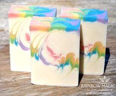 Rainbow Magic Soap by Serona Soaps
