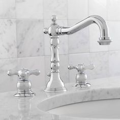Love the look of this Traditional style bathroom faucet by Symmons