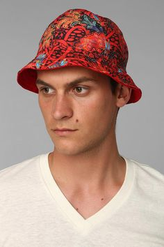 Exploded Floral Bucket Hat #urbanoutfitters