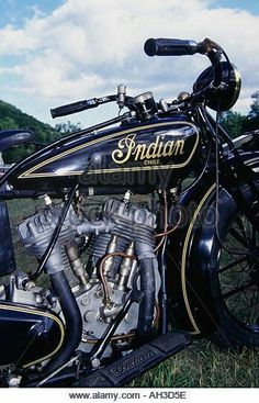 Find the perfect indian motorcycle stock photo. Indian Motorbike, Vintage Indian Motorcycles, Vintage Bikes, Vintage Motorcycles, Custom Motorcycles, Indian Motors, Classic Bikes, Classic Cars, Indian Scout