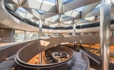 Bloomberg's new HQ from Foster & Partners - rated Rated the world's most sustainable office building by BREEAM