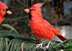 Hey, I found this really awesome Etsy listing at https://www.etsy.com/listing/43723852/needle-felted-bird-cardinal-bird