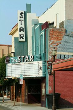 Star Theater. I used to make my dad drop me off a block away so the kids in line wouldn't see with my dad. Haha......stupid youth. Loved watching movies here!