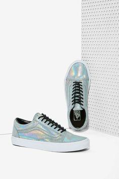 feba5df4f5 Vans Old Skool Leather Sneaker - Irridescent