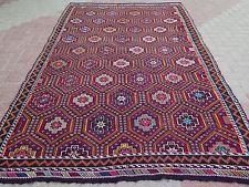 """Anatolia Turkish  Antalya Nomads  Kilim 74"""" x 115,3"""" Area Rug Carpet"""