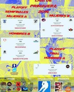 Otro finde de playoffs!!! Empiezan las finales de hombres A no se la pierdan!!#roller #hockey #argentina http://ift.tt/2fhc8xo - http://ift.tt/1HQJd81