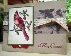 FS187 Cardinal Get's Out! by justampin - Cards and Paper Crafts at Splitcoaststampers