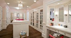 Make Up Vanity Nook, Contemporary, closet, Peterssen Keller Architecture