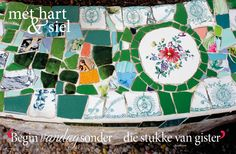 Lente/Spring, Mosaiek/mosaic Fotograaf: Christine Ferreira www.leef.co.za Afrikaans, Christian Quotes, Quilts, Blanket, Inspiration, Wisdom Quotes, Mosaics, Teacher, Spring