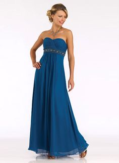 Sweetheart Chiffon Long Bridesmaid 79.99