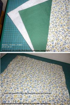 """""""Compartilhando passo a passos"""": """"PORTA OBJETOS"""" Bag Patterns To Sew, Quilt Patterns Free, Dress Sewing Patterns, Sewing Projects For Beginners, Sewing Tutorials, Sewing Crafts, Diy Scarf, Origami Box, Patchwork Bags"""