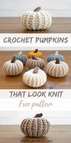 5 Adorable Crochet Pumpkin Patterns. Choose and crochet a pretty pumpkin with a free pattern. A roundup of the most adorable crochet pumpkin patterns.