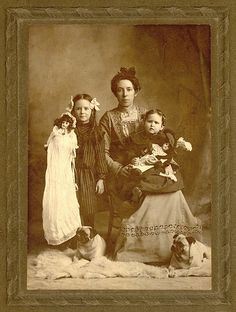 Family Portrait 1890s   Flickr - Photo Sharing! well-to-do family in Norwood, Missouri.
