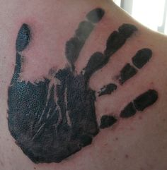 Today's new, fresh tattoo. Working time ~ 3 h.