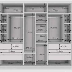 Wardrobe Interior Design, Wardrobe Door Designs, Wardrobe Design Bedroom, Room Design Bedroom, Bedroom Furniture Design, Home Room Design, Closet Designs, Attic Bedroom Storage, Urban Furniture