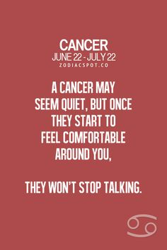 Cancer Zodiac Sign♋Man This Completely Me Cancer Zodiac Facts, Cancer Horoscope, Cancer Quotes, Gemini And Cancer, Zodiac Horoscope, Cancer Astrology, July Cancer, Cancer Moon, Zodiac Cancer