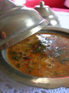 Almost Turkish Recipes: Lentil Soup with Bulgur (Bulgurlu Mercimek Çorbası)
