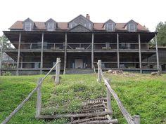 saw mill at heritage village at mackinaw mackinaw city mi saw