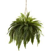 Found it at Joss & Main - Faux Boston Fern Hanging Plant