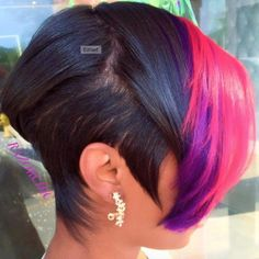 """Do you have damaged hair? Is your hair thin? It isn't called the """"the beauty nutrient"""" for nothing. Short Sassy Hair, Short Hair Cuts, Pixie Cuts, Short Pixie, Black Hair Short Bob, Bob Cuts, Love Hair, Great Hair, Hairstyles Haircuts"""