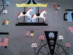 Kawaii Carnival Fabric