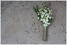 Blush Pink Bridal Bouquets & Lily Of The Valley Buttonhole