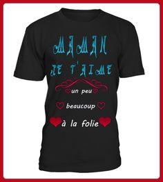 fte des mres je taime maman - Shirts für neffen und nichten (*Partner-Link)