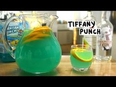 If You Like a Piña Colada, You'll Love a Blue Hawaiian Hawaiian Drinks, Blue Hawaiian Punch, Blue Hawaiian Drink Recipe Pitcher, Drinks Alcohol Recipes, Yummy Drinks, Drink Recipes, Tiffany Blue Punch, Jolly Rancher Vodka