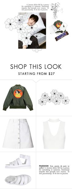 """Baby your mine"" by mn2001or ❤ liked on Polyvore featuring Chicnova Fashion, WALL, Miss Selfridge, Dr. Martens, ADZif and botigot7s"