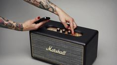 Marshall Bluetooth Speaker 580x324 Lenceinte Bluetooth Marshall Stanmore est juste magnifique