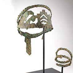A rare Byzantine Bronze Diadem and Bracelet, ca 4th - 5th century AD