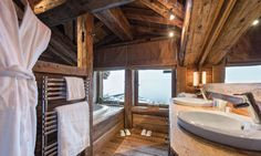 All 5 bedrooms are ensuite at Chalet Montana #ensuite #courchevel1850 #luxurychalet #skiholiday