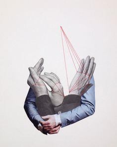 Juxtapoz Magazine - Nicola Kloosterman's Analog Collage Art