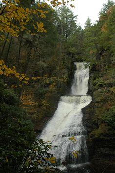 Dingman's Falls, Pocono Mountains, Pa.