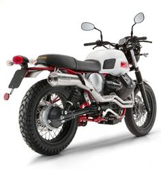 2016 Moto Guzzi V7 Stornello Scrambler Debuts At EICMA 2015 Right Rear Three Quarters