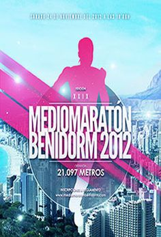 Cartel mm Benidorm 2012