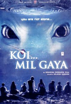 Mil Gaya A retarded man finds love and a place in this world with the help of a cute blue alien. Romance Movies, Comedy Movies, Hindi Movies, Drama Movies, Koi Mil Gaya, Best Bollywood Movies, Yash Raj Films, Bollywood Posters, See Movie