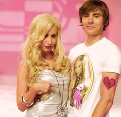 high school musical - sharpay and troy