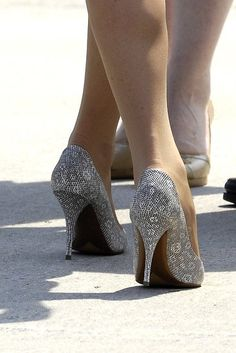 Kate's shoes that went with the Catherine Walker dress. I want nearly everything the Duchess wears!