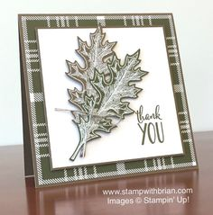 Vintage Leaves, Happy Happenings, Stampin' Up!, Brian King, PPA268