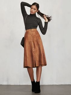 . The Bonilla Skirt - your friends will think you spent hours thrifting for it when really all you had to do was click.