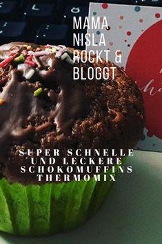 Super leckere und fluffige Schokoladenmuffins für den Thermomix oder ohne.