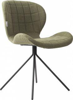 Zuiver heeft deze stoel wel een erg leuke naam gegeven. Namelijk de OMG eetkamerstoel, oftewel 'OH MY GOD'. Ga eens zitten in deze comfortabele OMG stoel en je