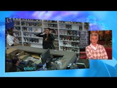 I seriously died from laughter. Sofia Vergara plays a hidden camera prank on the Ellen show