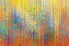 Christian Art | See The Goodness Of The Lord | Modern Abstract Painting