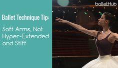 Soft Straight Arms, Not Hyper-Extended | #gottadance