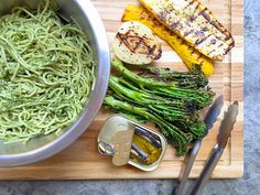 Foodist Approved: Pesto Pasta Salad with Grilled Veggies and Sardines Recipe | Summer Tomato