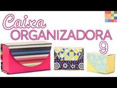DIY Caixa Organizadora em formato de LIVRO ✂️ Artesanato - YouTube
