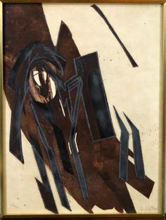 Lot de 3 oeuvres d'ARTHUR BERTRAND Huguette (1922-2005), Composition,
